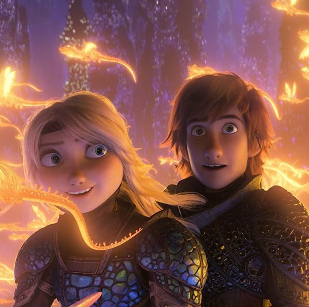 Toothless Tampil Genit dalam Trailer How To Train Your Dragon 3