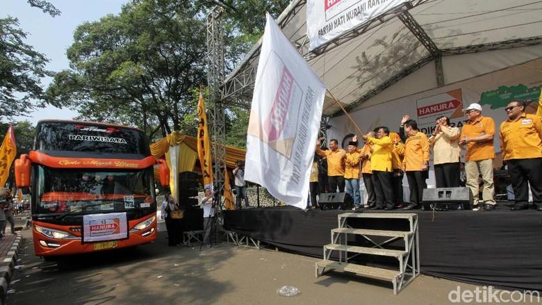 1.200 Orang Ikut Mudik Gratis Partai Hanura