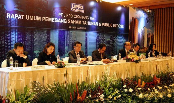 Dalam RUPST tersebut, LPCK mengubah susunan anggota dewan direksi dan komisaris, dimana Sie Subiyanto telah disetujui dan disahkan sebagai Presiden Direktur LPCK yang baru, untuk menggantikan posisi Ivan Budiono.