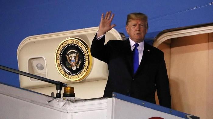 Kedatangan Donald Trump. Foto: Dok