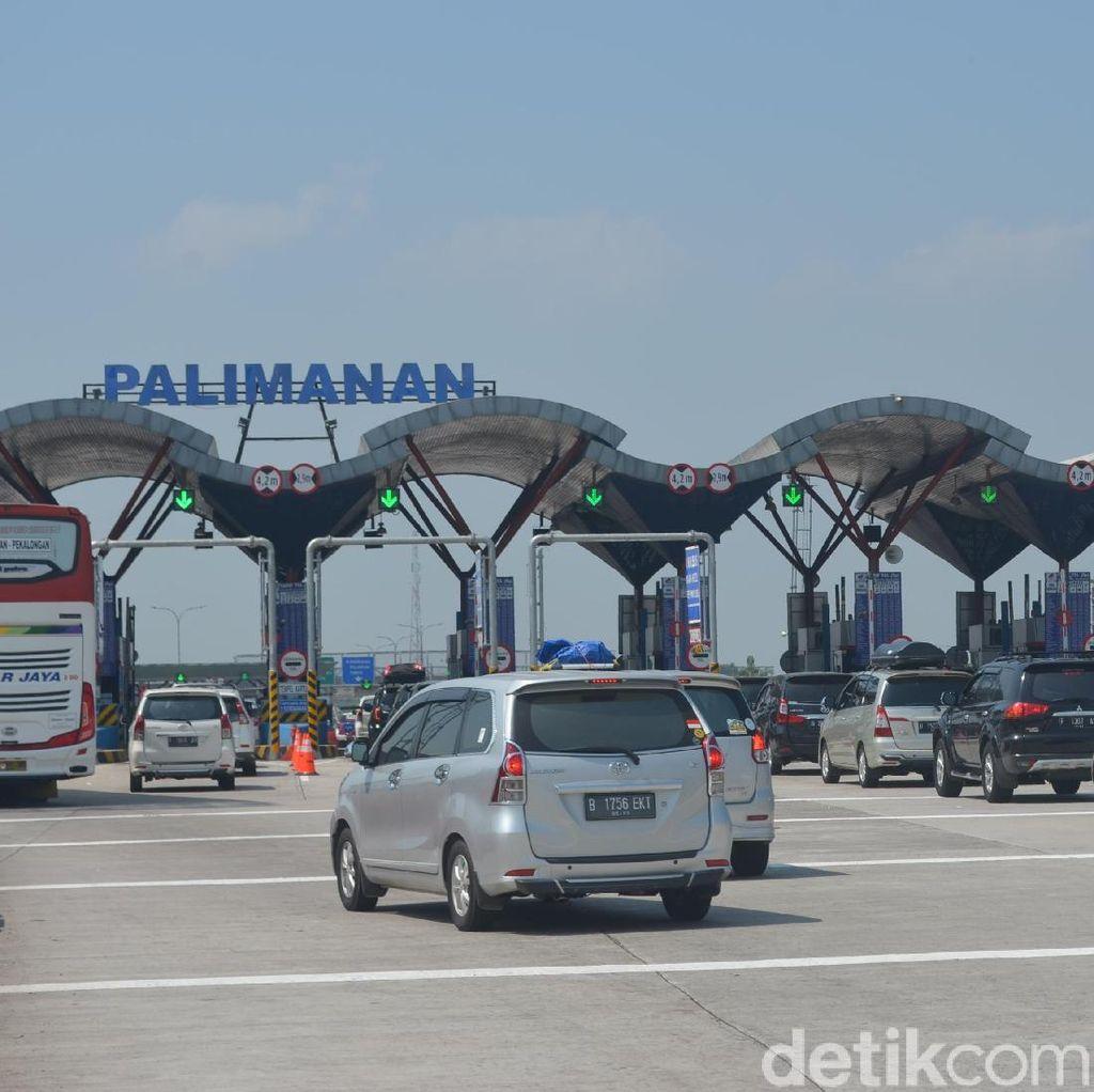 One Way Arus Balik di Tol Palimanan-Cawang Diberlakukan Pukul 15.00