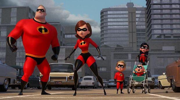 'Incredibles 2': Keluarga Superhero Juga Manusia