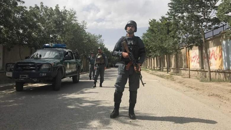 Ilustrasi tentara Afghanistan (REUTERS/Mohammad Ismail)