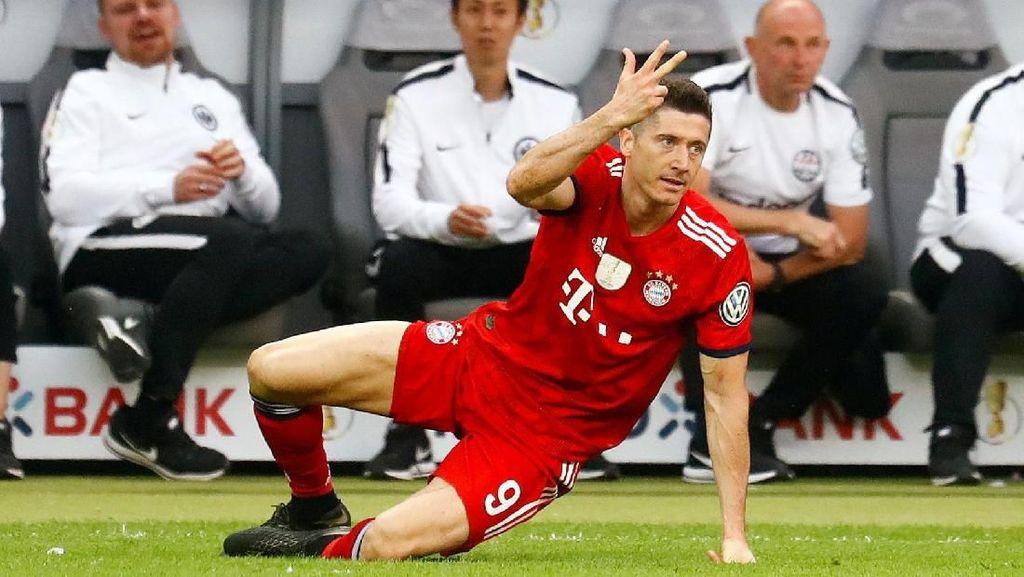 Bayern Bantah Pasang Harga Rp 3,3 T untuk Lewandowski