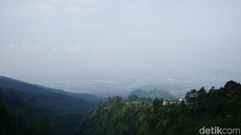 Panorama sejuk dari Umbul Sidomukti (Masaul/detikTravel)