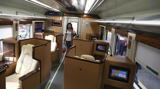 Manjakan Penumpang, KAI Pesan 10 Rangkaian Kereta First Class