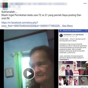 Viral Nenek Manih di Bogor Hamil Anak Pertama di Usia 70-an Tahun