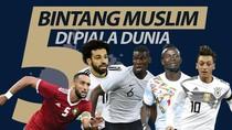 5 Bintang Muslim di Piala Dunia 2018