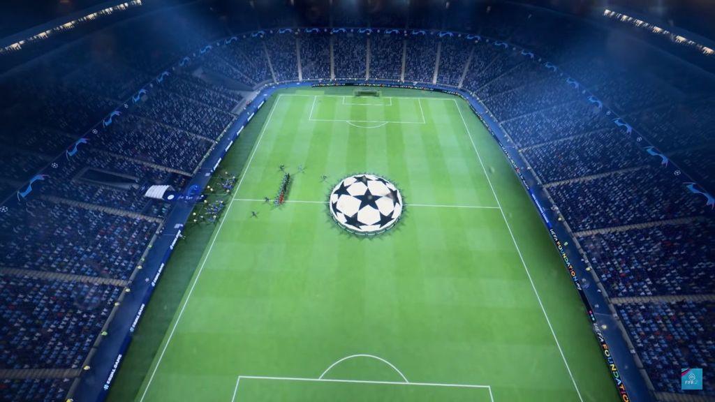 EA Sports berhasil mendapatkan lisensi Liga Champions dari UEFA untuk FIFA 19. Foto: YouTube/EA Sports