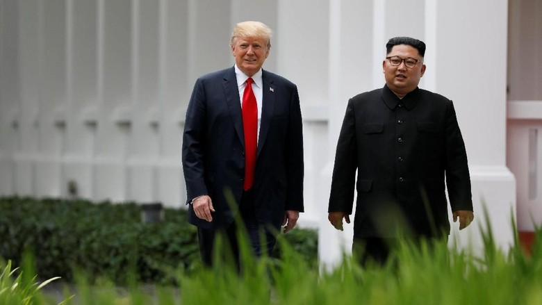 Kim Yakin Pertemuan dengan Trump Jadi Pendahuluan untuk Perdamaian
