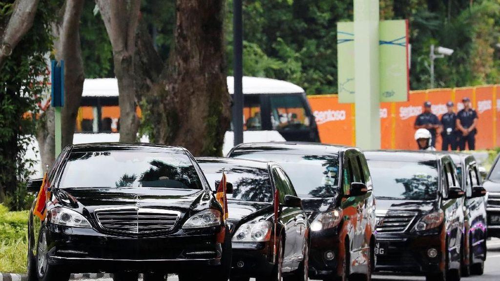 Mobil Sudah Antipeluru, Kim Jong Un Masih Dikawal Bodyguard