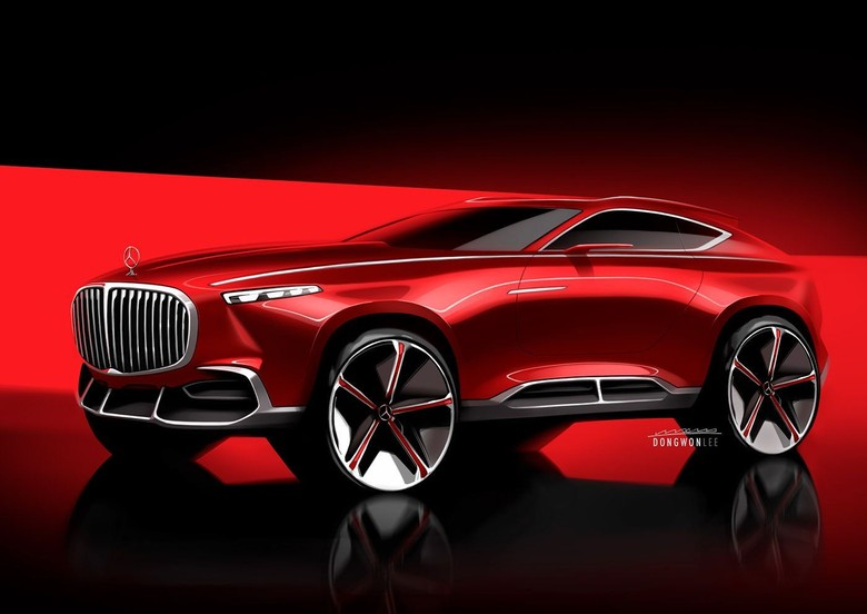 Mercedes-Maybach Crossover. Foto: Istimewa