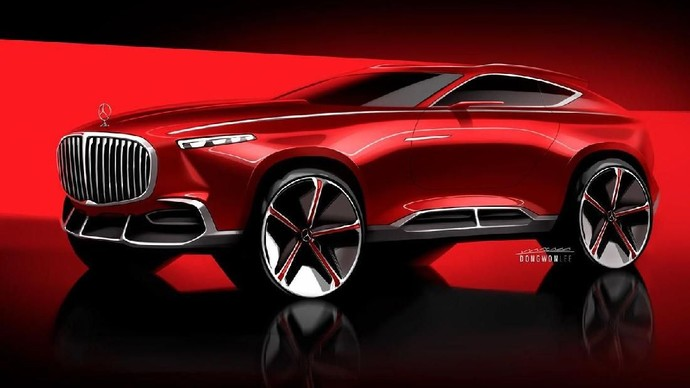 Mercedes-Maybach Disulap Jadi Crossover Coupe