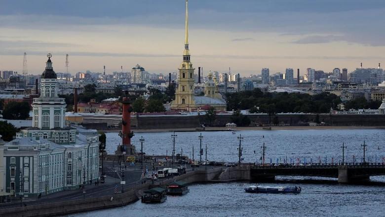 St Petersburg di Rusia (Anton Vaganov/Reuters)