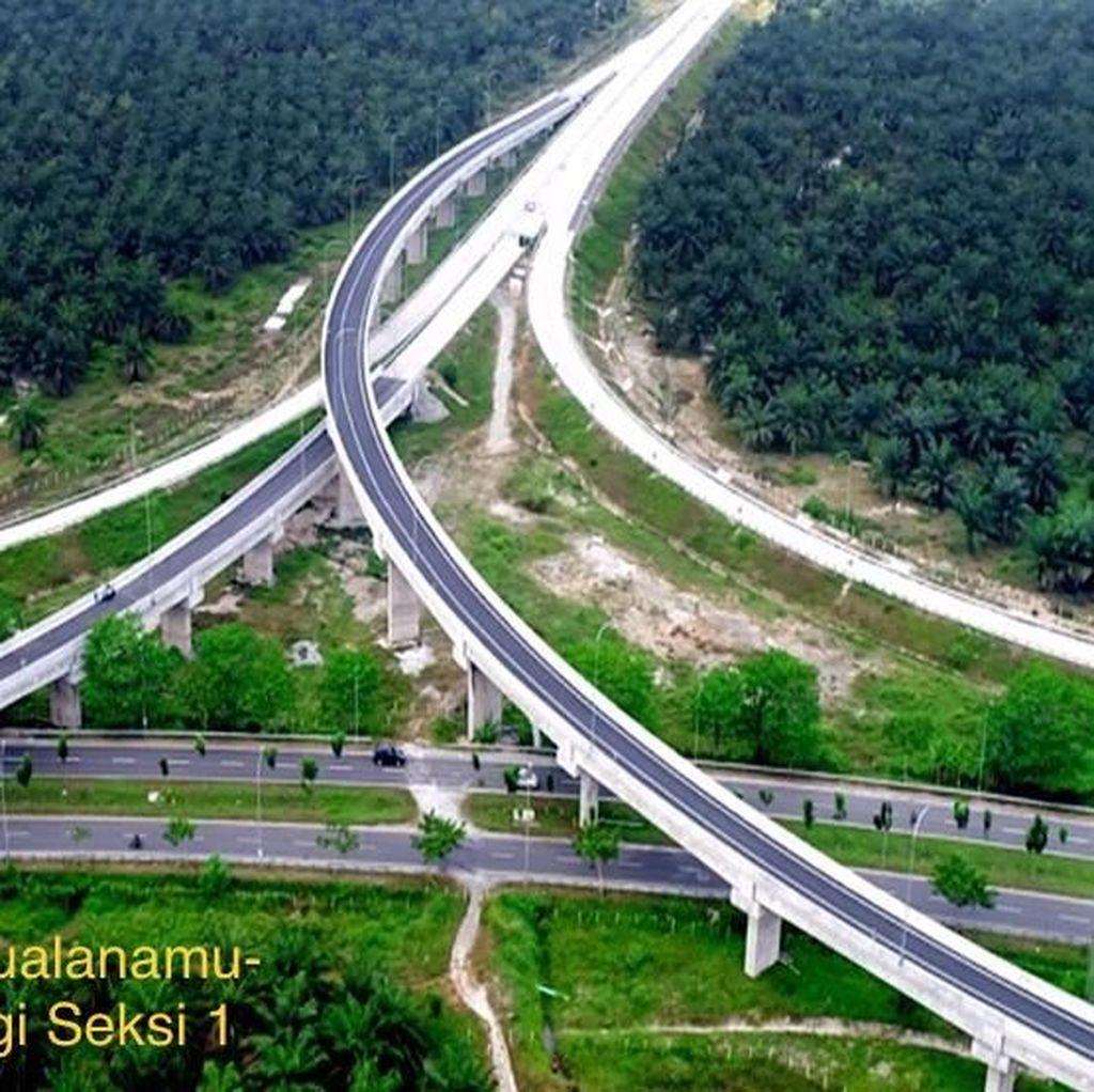 Perkembangan Terkini Pembangunan Tol Medan-Kualanamu-Tebing Tinggi