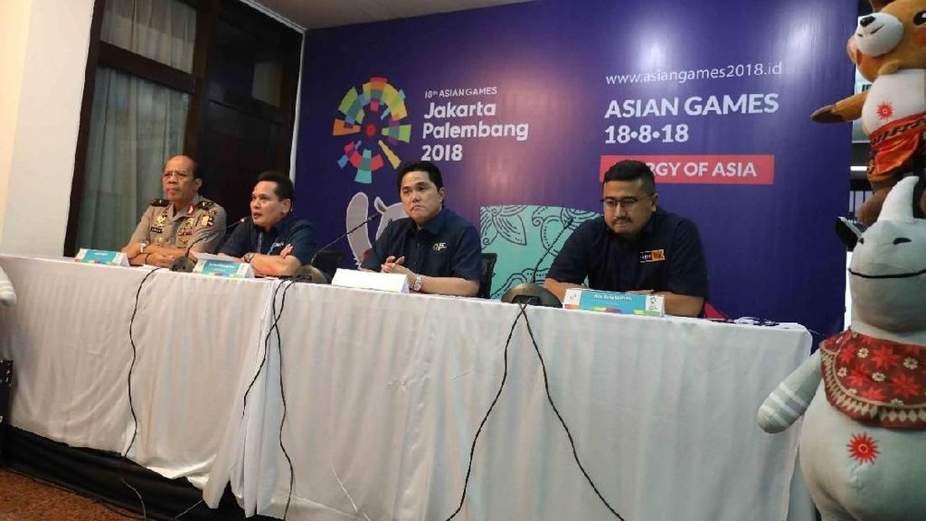Demi Hindari Calo, Pembelian Tiket Asian Games 2018 Akan Dibatasi