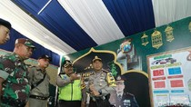 Kapolrestabes Pastikan Kesiapan Pasukan di Pos Lebaran