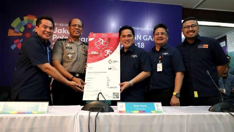 Tiket Asian Games 2018 Dijual Mulai 30 Juni