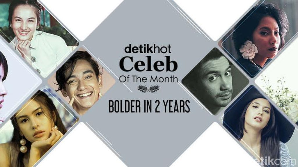 Bertabur Bintang Bolder In 2 Years Celeb of The Month