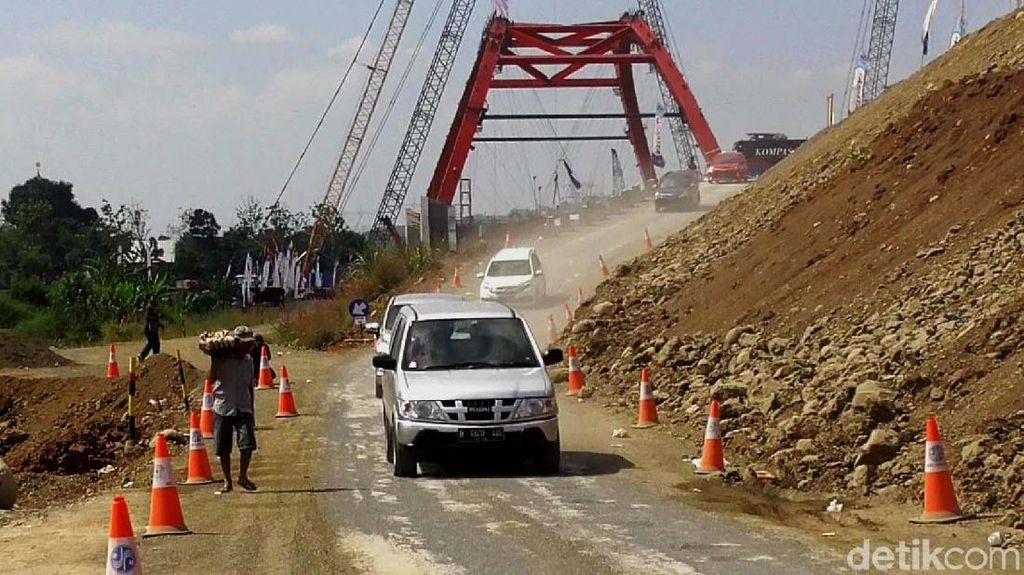 Ini Jembatan Kalikuto yang Besok Beroperasi untuk Mudik