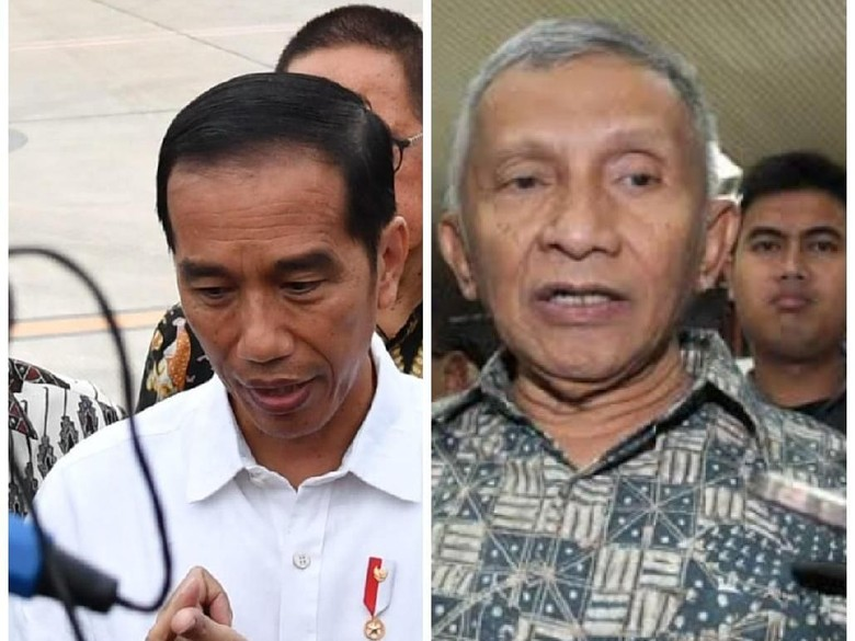 Pujian Jokowi Jawab Tantangan Amien Rais