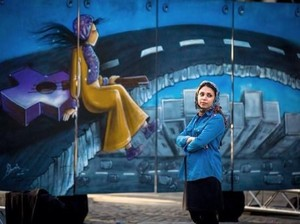 Jadi Street Artist di Negara Perang, Ini yang Ditakutkan Shamsia Hassani