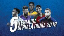 5 Young Guns Piala Dunia 2018