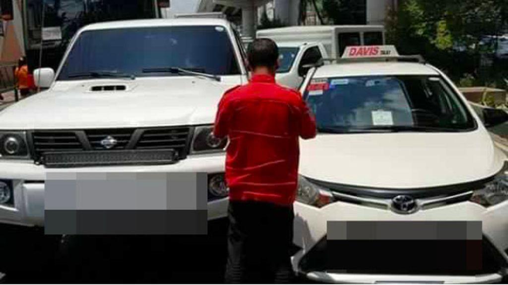 Ditabrak Taksi, Pengemudi Ini Ikhlas Usai Dengar Keluhan Sopir Taksi