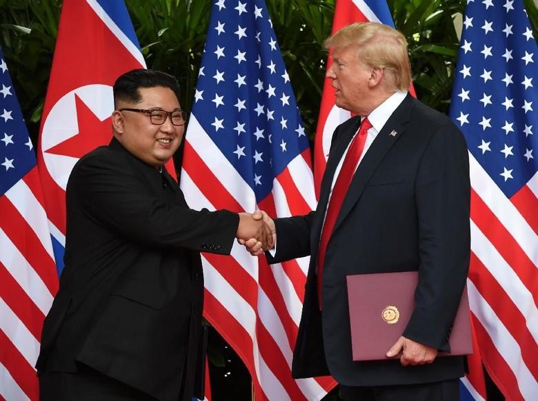 Trump: Saya Percaya pada Kim, Dia Ingin Selesaikan Persoalan