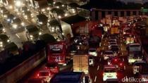 Pemeriksaan Kendaraan Arus Balik, Tol Cikampek Arah Jakarta Padat 3 Km