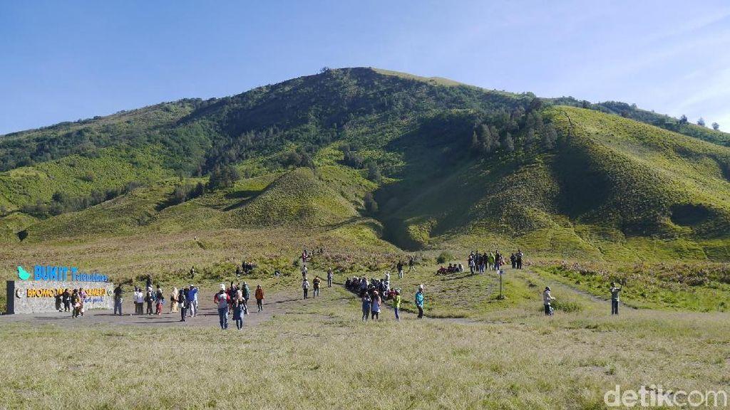 Libur Lebaran, Asyiknya Main ke Bukit Teletubbies Bromo