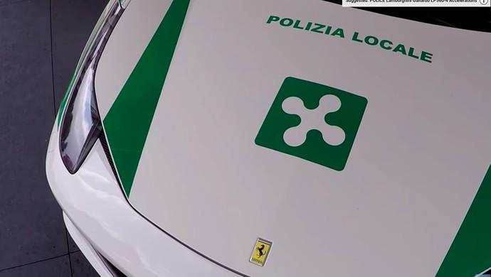 Ferrari 458 Spider Bekas Mafia Jadi Mobil Polisi, Keren Juga!