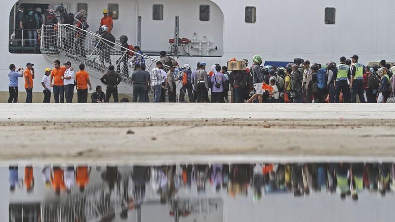 Kuota Mudik Naik Kapal Laut untuk Pemotor Ditambah Jadi 7500 Penumpang