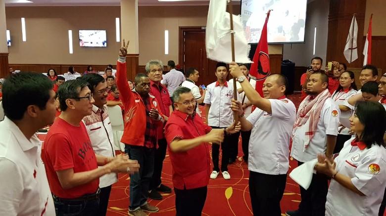Tokoh PDIP Turun Gunung Dukung Djarot di Pilkada Sumut
