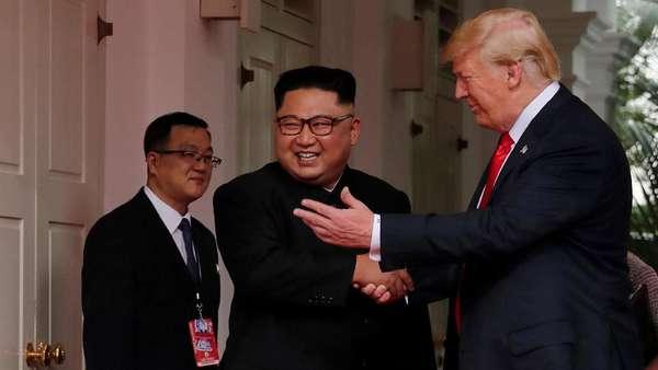 Ini Kata Pakar Bahasa Tubuh Mengenai Pertemuan Trump dan Kim