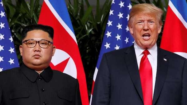 Trump dan Kim Jong-Un Makan Siang Bersama, Apa Menunya?