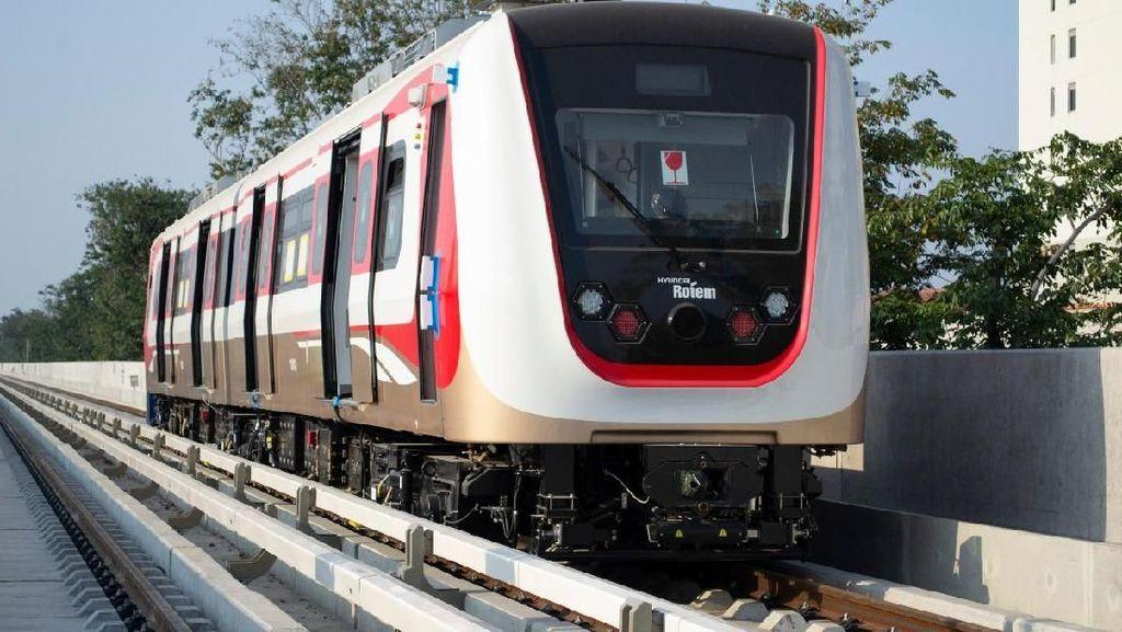 Masih 75%, LRT Jakarta Bisa Dipakai saat Asian Games?