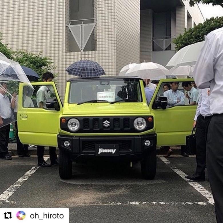 Suzuki Jimny. Foto: Carscoops