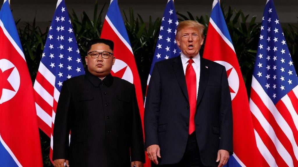 Bertemu Kim Jong Un, Ini Sindiran Trump Pada Haters