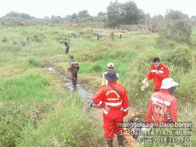 Libur Lebaran, Patroli Kebakaran Hutan KLHK Tetap Jalan