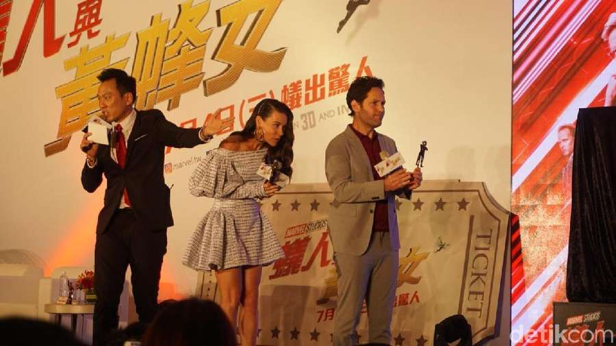 Kemeriahan Premiere Ant-Man and The Wasp di Taipei