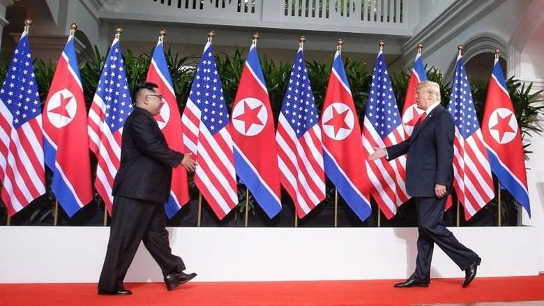 Singapura Anggarkan Rp 278 Miliar Untuk Pertemuan Trump-Kim