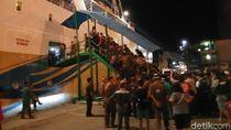 Berjubel, 1.287 Pemudik Tiba di Pelabuhan Makassar