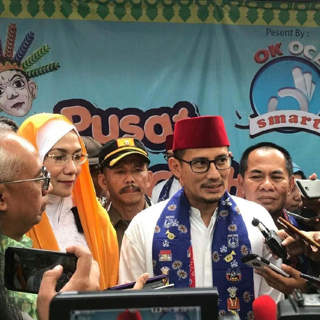 Sandi Klaim Pengunjung Jakarta Fair Tembus 3 Juta Orang