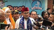 Berpeci Merah, Sandi Resmikan Pusat Kebudayaan Betawi Ancol