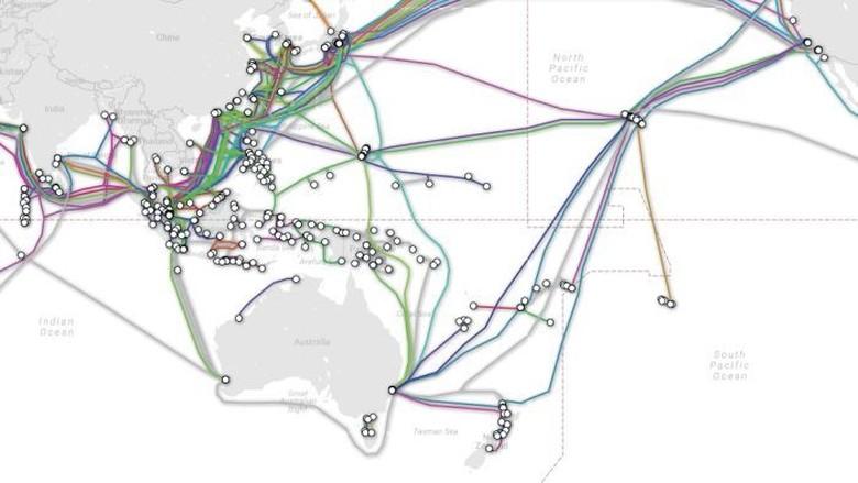 Cegah China, Australia Bangun Kabel Bawah Laut Kepulauan Solomon