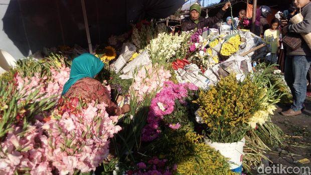 Jelang Lebaran, Harga Bunga di Bandungan Melonjak 12 Kali Lipat