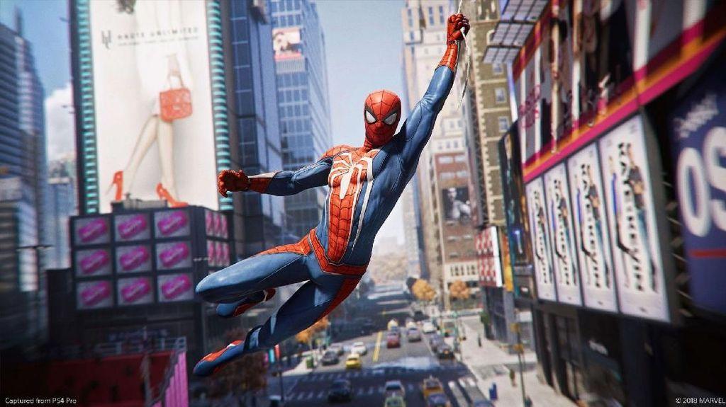Wow, Tebar Jaring ala Spiderman Nggak Lagi Cuma di Film!