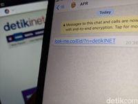 Beredar Link Look-Me di WhatsApp, Amankah Diklik?