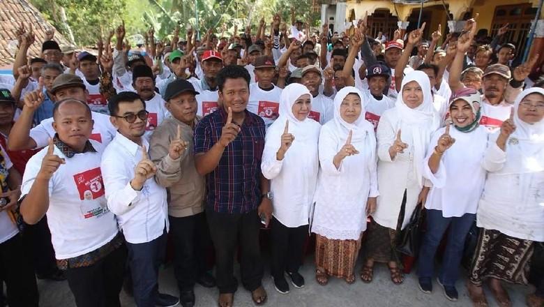 Petani Desa di Mataraman Deklarasi Dukung Khofifah-Emil